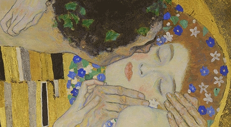 Masterpiece İzmir Resim - Gustav Klimt - Öpücük Etkinlik Afişi