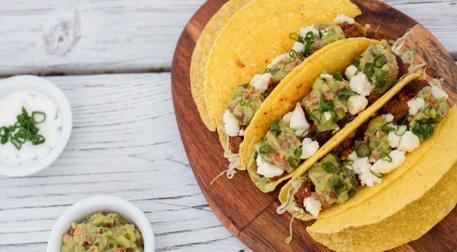 Meksika 3 Taco Etkinlik Afişi