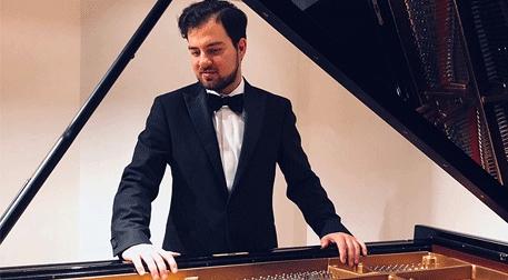 Burak Çebi Piyano Resitali Etkinlik Afişi