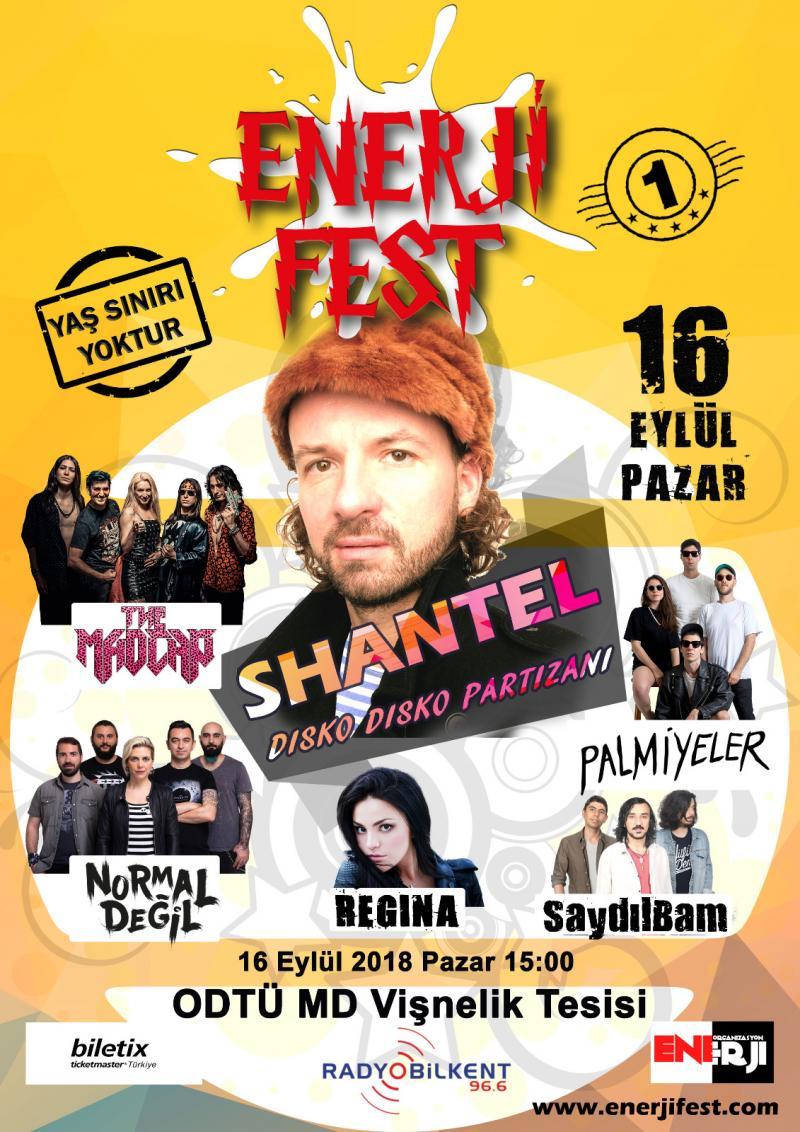ENERJİ FEST Etkinlik Afişi