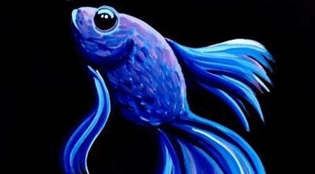 Masterpiece Ankara Resim - Mavi Balık Etkinlik Afişi