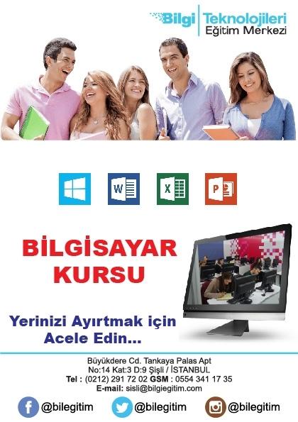Meb Onaylı Bilgisayar İşletmenliği Sertifika Eğitimi Etkinlik Afişi