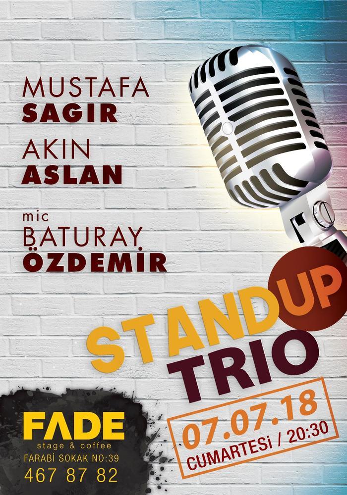Trio Stand Up Etkinlik Afişi