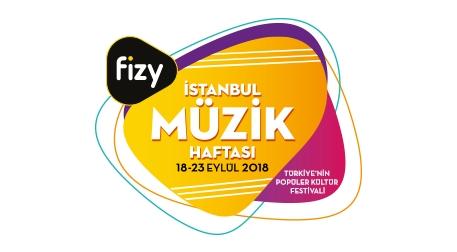 fizy İstanbul Müzik Haftası - PSM Mekan Bileti Etkinlik Afişi