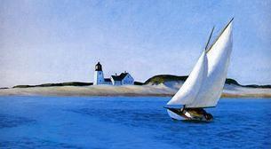 Masterpiece Bostancı Resim - Edward Hopper - Uzun Rota Etkinlik Afişi