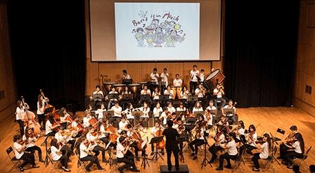 Barış için Müzik Orkestrası - Neşeli Pazarlar Etkinlik Afişi