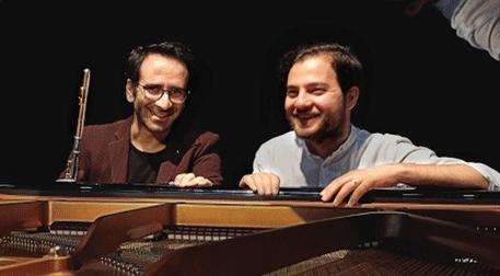 Duo Flamma, Burak Çebi & Öncü Uçar, Flüt ve Piyano Resitali Etkinlik Afişi