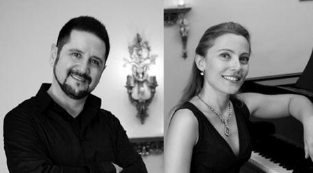İtalya ve Fransa'dan Ezgiler - Ömür Munzur & Elif Önal Etkinlik Afişi