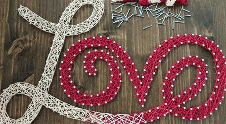 Masterpiece Ankara String Art - Love Etkinlik Afişi