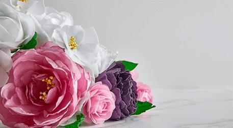 MSA - Yenilebilir Kağıt ile Çiçek Buketi Hazırlama Etkinlik Afişi