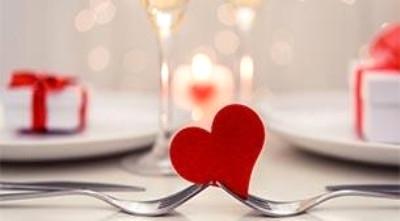 Sevgili Günü Menüsü Etkinlik Afişi