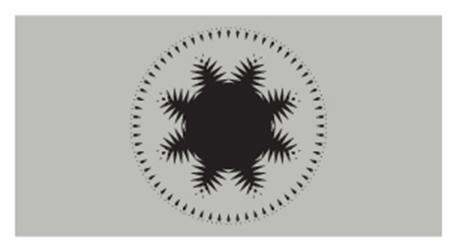 Bir Fantom Dünyanın Pixellenmiş Görüntüleri Etkinlik Afişi