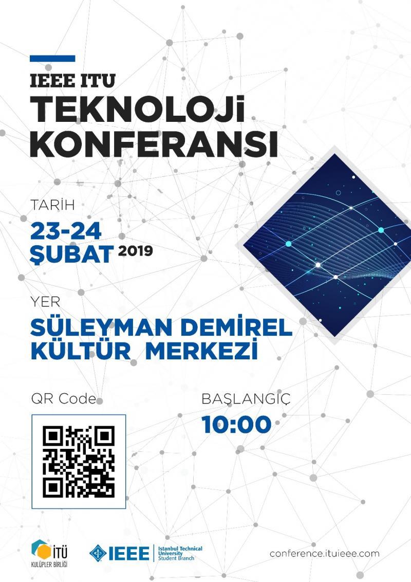 IEEE İTÜ Teknoloji Konferansı Etkinlik Afişi