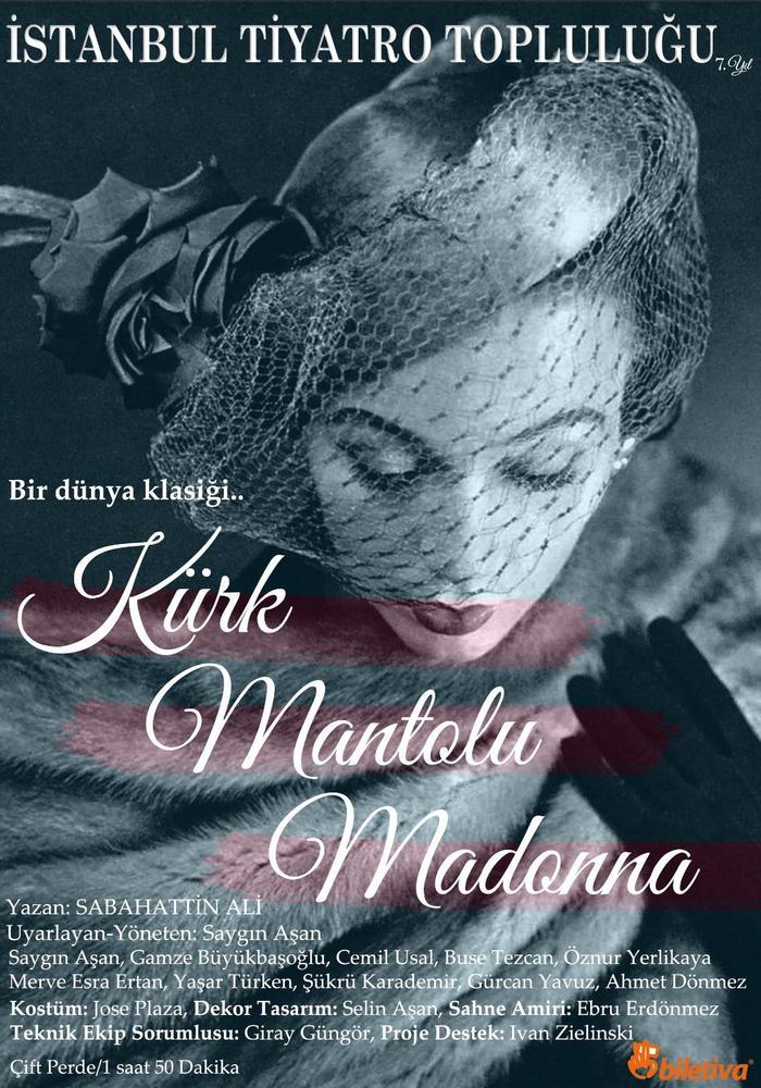 Kürk Mantolu Madonna (Ankara Turnesi) Etkinlik Afişi