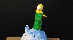 Masterpiece Galata Heykel - Küçük Prens Etkinlik Afişi