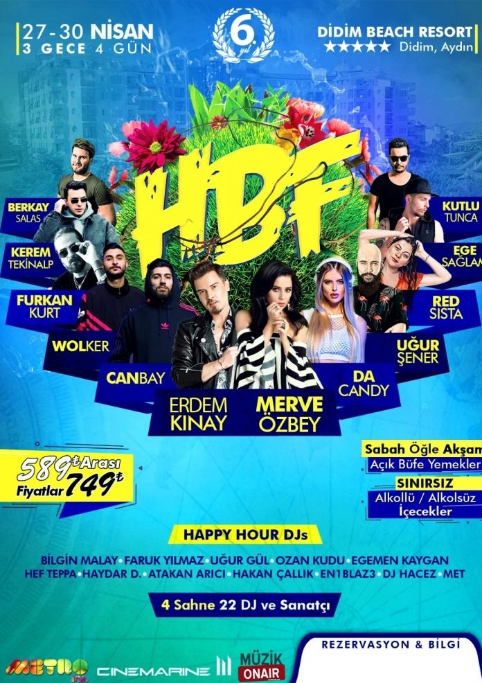 HBF 2019 Etkinlik Afişi