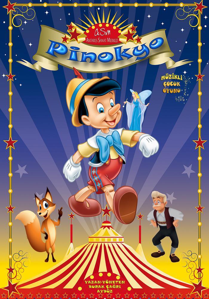 Pinokyo (Çocuk Tiyatrosu) Etkinlik Afişi