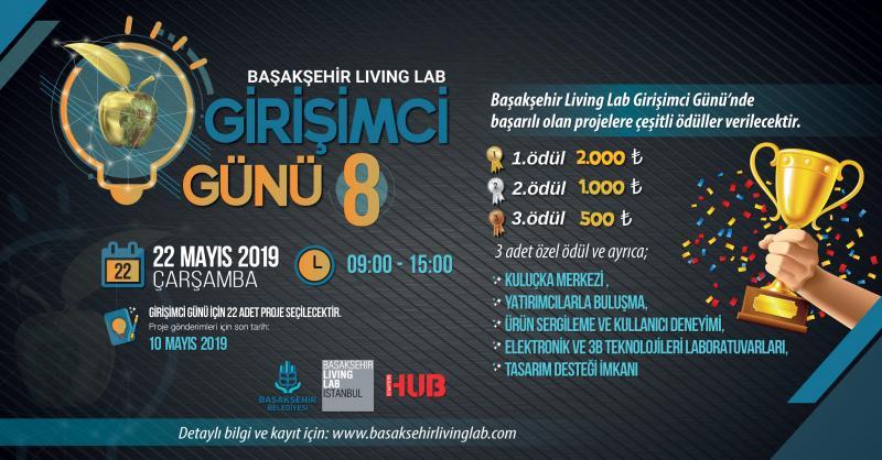 Başakşehir Living Lab Girişimci Günü 8 Etkinlik Afişi