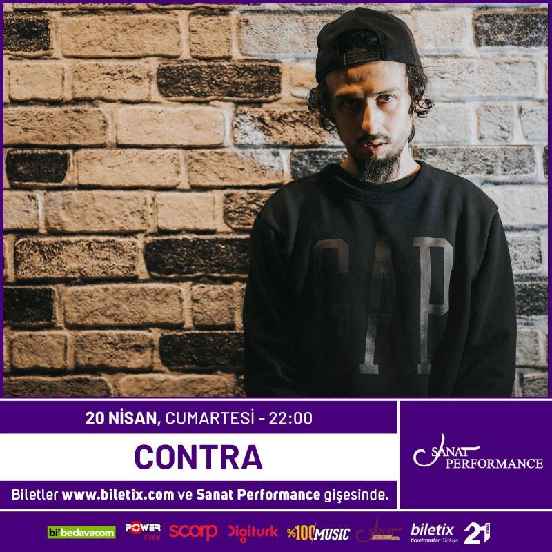 """""""Contra"""" 20 Nisan Cumartesi Beyoğlu Sanat Performance Sahnesinde... Etkinlik Afişi"""