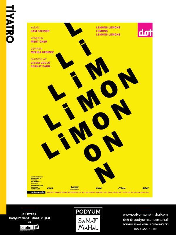 Limon Limon Limon Limon Limon Etkinlik Afişi