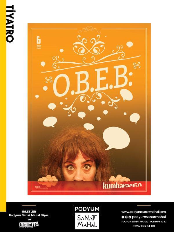 O.B.E.B Ortak Bölenlerin En Büyüğü Etkinlik Afişi