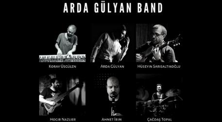 Arda Gülyan Band - 80'ler - 90'lar Canlı Performans Etkinlik Afişi