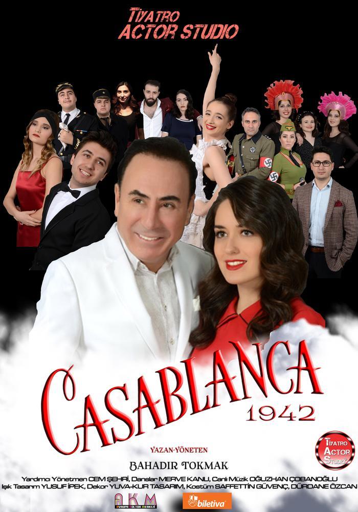 Casablanca 1942 Etkinlik Afişi