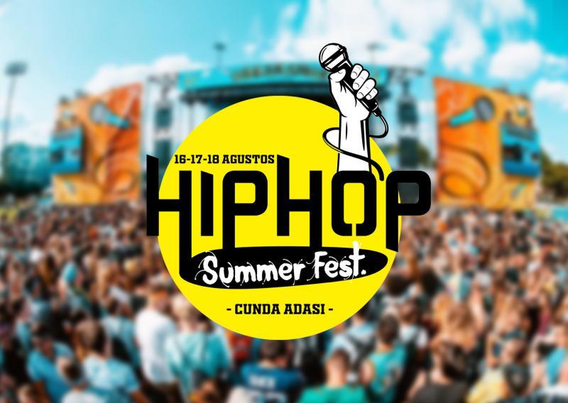 Hip Hop Summer Fest. Etkinlik Afişi