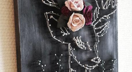 Masterpiece Galata String Art - Geyik Etkinlik Afişi