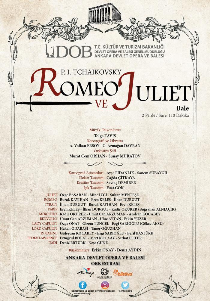 Romeo ve Juliet Etkinlik Afişi