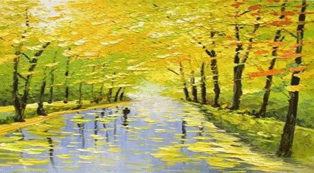 Masterpiece Galata Resim - Sarı Sonbahar Etkinlik Afişi