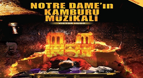 Notre Dame'in Kamburu Müzikali Etkinlik Afişi