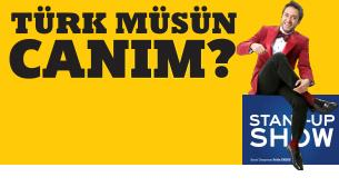 Türk Müsün Canım? Etkinlik Afişi